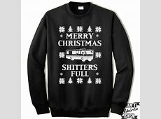 christmas vacation shitters full sweater