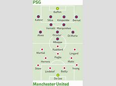 man united vs psg