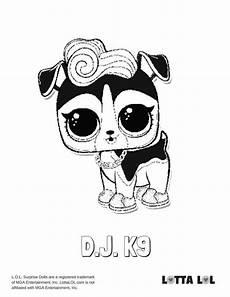 Malvorlagen Lol Ideas Malvorlagen Dj K9 Lotta Lol Lol Series 3 Pets