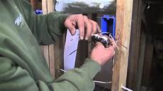 how to install a 120 volt outlet youtube