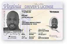 veteran id card template veteran license indicator virginia department of