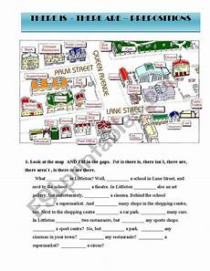 grammar worksheet there is there are with prepositions 25093 worksheets there is are and prepositions