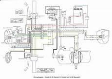 honda express wiring diagram honda nc 50 wiring schematic