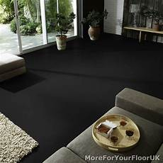 plain black vinyl flooring anti quality lino 2m ebay