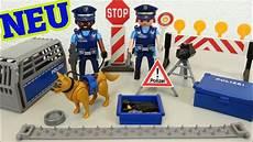 Playmobil Malvorlagen Polizei Playmobil Polizei Stra 223 Ensperre 6878 Auspacken Seratus1