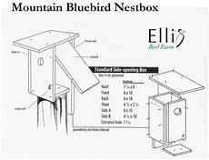 mountain bluebird house plans nestboxes