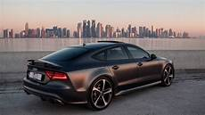 audi rs7 daytona matte red interior launch driving etc