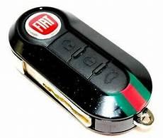 fiat 500 gucci remote key cover black metallic new genuine