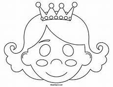 printable princess mask
