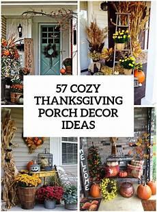 Thanksgiving Home Decor Ideas 2019 by 57 Cozy Thanksgiving Porch D 233 Cor Ideas Porch In 2019
