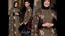 gamis batik 2017 dan mukena batik couple baju koko limited edition 2017 youtube