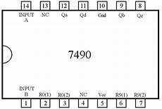 circuit to control a seven segment display by 7490 4511