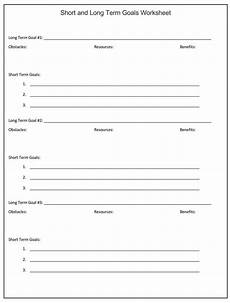 goal setting template excel database