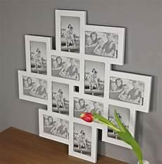 bilderrahmen an der bilderrahmen collage wei 223 holz rahmen galerie neu