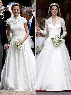 Pippa Kate Middleton S Wedding Dresses Whose Stunning