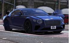 Bentley Continental Gt 2018 1 0 Replace Addon Gta5