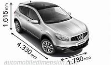 nissan qashqai dimension dimensions of nissan cars showing length width and height