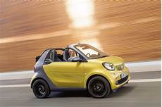 Prix Smart Fortwo Cabrio 2016 La Smart Cabriolet D 233 Voile