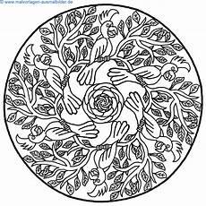 Mandala Malvorlagen Kostenlos Ausmalbilder Mandala Vorlagen Kostenlos Malvorlagen Zum