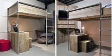 Jugendzimmer Selber Bauen - diy vintage metal pipe bed frame with 1 2 quot 1 quot black iron