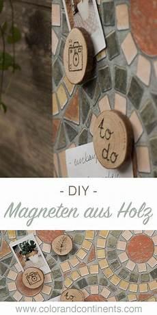 diy magneten aus holz einfach selber machen magnete