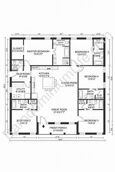 barndominium house plans the absolute best 5 bedroom barndominium floor plans