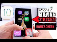 jailbreak live wallpapers live wallpapers on iphone home screen ios 10 glitch no