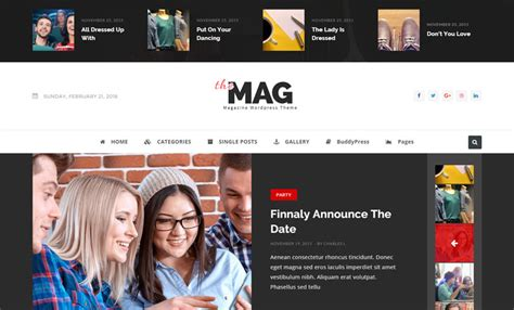 themag v1 3 3 magazine with paid article submission system and buddypress