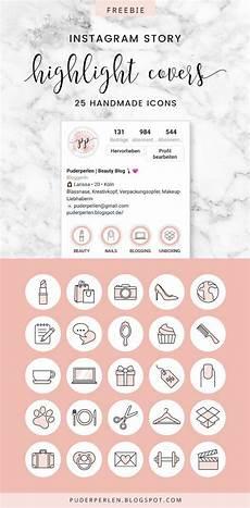 freebie 25 instagram story highlight cover zum kostenlos