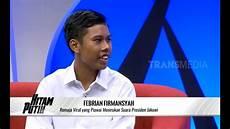 Febrian Remaja Yang Suaranya Mirip Presiden Jokowi