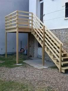 Escalier Bois Kit Exterieur
