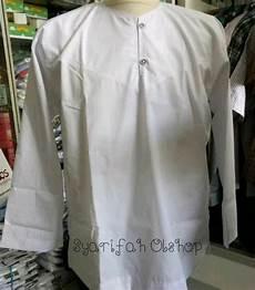 jual baju koko habaib baju koko kancing baju koko putih polos baju takwa muslim pria di