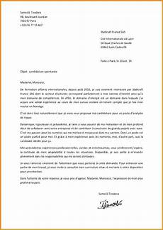 lettere gratis 8 lettre de motivation candidature spontanae