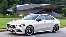 New Mercedes A Class Sedan Debuts India Launch In