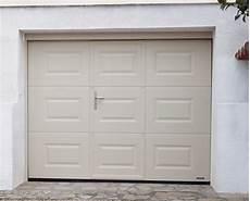 Porte De Garage Sectionnelle Avec Portillon Int 233 Gr 233 Prix