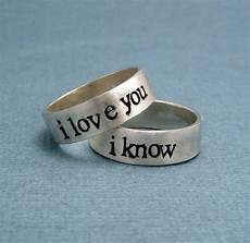 secret message promise rings for couples promise rings for