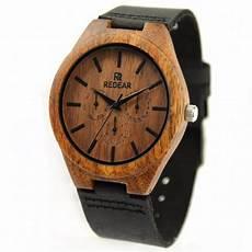 montre en bois homme montre bois homme avec bracelet cuir jonathan