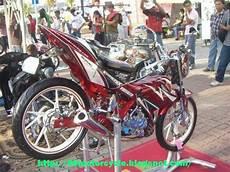 Modifikasi Satria Fu 2013 by 10 Modifikasi Motor Satria Fu Terkeren