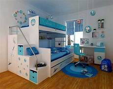 Etagenbett Wei 223 Und Blau F 252 R Kinderzimmer