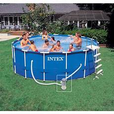 piscine tubulaire intex metal frame 4 57 x 1 22 m