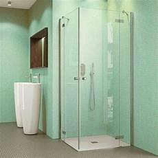 Duschkabine Glas Eckeinstieg - perla glas duschkabine eckeinstieg kaufen spiegel21
