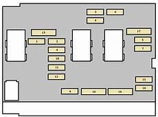Peugeot 307 Cc 2003 Fuse Box Diagram Auto Genius