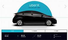 uber black pricing uberx fares lowered in 16 markets more viable than taxi or car rental options the points