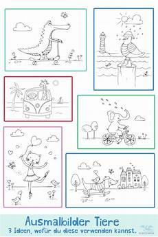 Ausmalbilder Ella Elefant Die Ausmalbilder Mit Den Icedrake Freunden Katze Hund