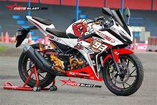 Modifikasi Striping All New Cbr150r by Modifikasi Striping Honda All New Cbr150r White Marc