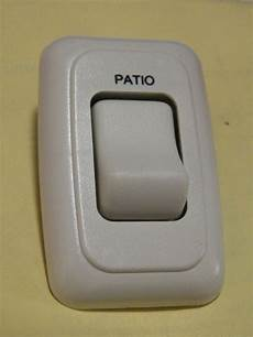 new rv motorhome 12vdc patio light rocker wall switch ebay