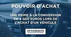Une Prime 224 La Conversion De 4 000 Euros Lors De L Achat D