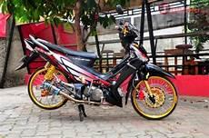 Modifikasi Supra 125 Jari Jari by Gambar Modifikasi Motor Supra X 125 Deqwan1