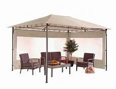 pavillon für terrasse pavillon orinoco 3x4m sand gartenpavillon terrasse garten