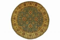 ziegler teppich rund beige blau in 160x160cm 5001 41 bei